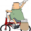 Paper boy - Stock Photo
