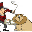 Lion Tamer — Stock Photo #23951207