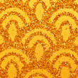 Stock Photo: Gold sparkles