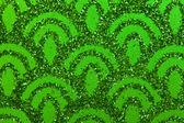 Grüne funken — Stockfoto