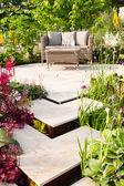Tranquil garden — Stock Photo
