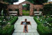 Bahçe peyzaj — Stok fotoğraf