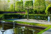 Bahar bahçe peyzaj — Stok fotoğraf