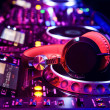 Dj mixer with headphones — Stock Photo #12643647