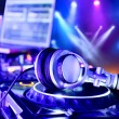 Dj mixer with headphones — Stock Photo #12643682