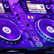 DJ CD player and mixer — Stock Photo #14345173