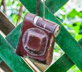 Tampa da câmera — Fotografia Stock