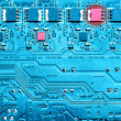 Malfunction of electronic equipment circuits — Stock Photo