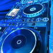 DJ CD player and mixer — Stock Photo #14738813
