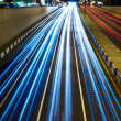 Stock Photo: Nighttime highway