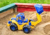 Escavatore per bambini — Foto Stock