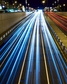Nighttime highway — Stock Photo