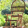 Rocking chair on porch — Stock Photo