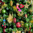Decorated Christmas tree — Stock Photo #17879359
