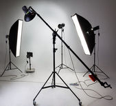 Photostudio attrezzature — Foto Stock