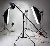 Photostudio equipment — Stock Photo