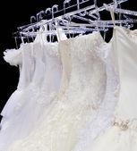 Wedding dresses — Stock Photo