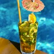 Royalty-Free Stock Photo: Cocktail Mahito pool