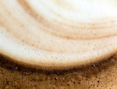 Coffee foam — Stock Photo