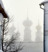 俄罗斯教会在苏兹达尔 — 图库照片