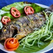 Royalty-Free Stock Photo: Dish of fried fish