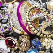 Fashionable women's jewelry — Stock Photo