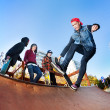 Skateboarder in skatepark — Stock Photo #22765606