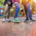 Skateboarder in the skatepark — Stock Photo #22765626