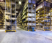 New and modern warehouse — Stock Photo