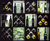 Wine collection — Stock Photo