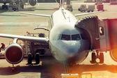 Tod im flugzeug — Stockfoto