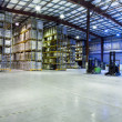 Foto Stock: Large warehouse