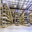 Stock Photo: New and modern warehouse
