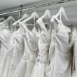Stock Photo: Wedding dresses