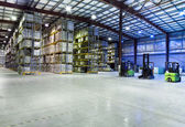 Large warehouse — Stock Photo