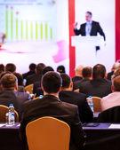 Op de conferentie — Stockfoto