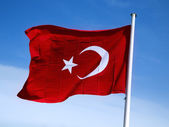 Flag of Turkey — Stok fotoğraf