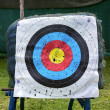 Stock Photo: Target for archery