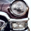 Classic old car front right view — Stock Photo #34099605
