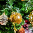Decorated Christmas tree — Stock Photo #38671059