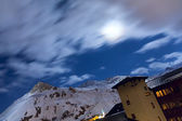 Ski resort Tignes — Stock Photo