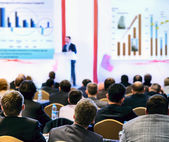 People at the conference — Stock Photo