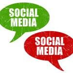 Social media symbols — Stock Photo #12804656