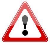 вектор предупреждающий знак — Cтоковый вектор
