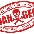 Royalty-Free Stock Photo: Danger stamp