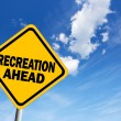 Recreation ahead — Foto Stock