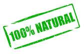 Natural stamp — Stock Photo