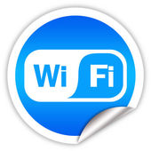 Wi-fi symbol — Stock Photo