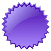 Vector glass burst icon — Stock Vector