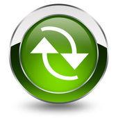 Botão atualizar — Fotografia Stock